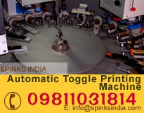 Automatic Toggle Printing Machine
