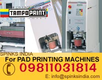 V- 130 Duo Pad Printing Machines